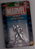marvel diecast poseable action figure silver