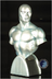 silver surfer mini bust bowen designs