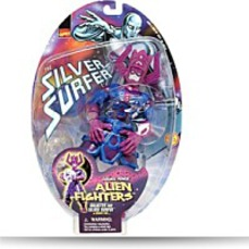Alien Fighters Galactus And Silver Surfer