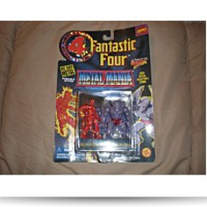 Fantastic Four Metal Mania Human Torch