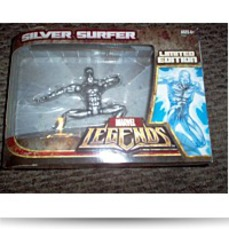 Legends Silver Surfer On Surfboard Limited