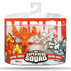 Marvel Super Hero Squad Human Torch Vs