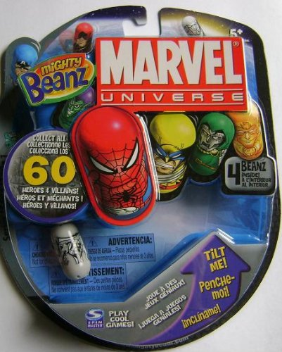 +2 Exclusive Beanz Mighty Beanz Mighty Tin Marvel Universe