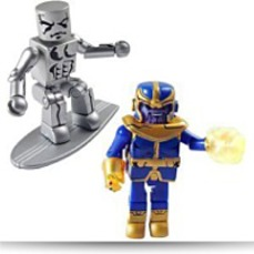 Minimates Thanos And Silver Surfer 2PACK