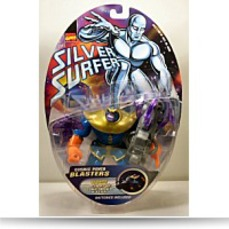 Silver Surfer Thanos Figure