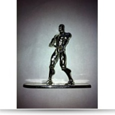 Super Heroes Silver Surfer With Surfboard