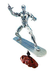 marvel legends series silver surfer action